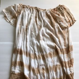 Flowy tie dye dress